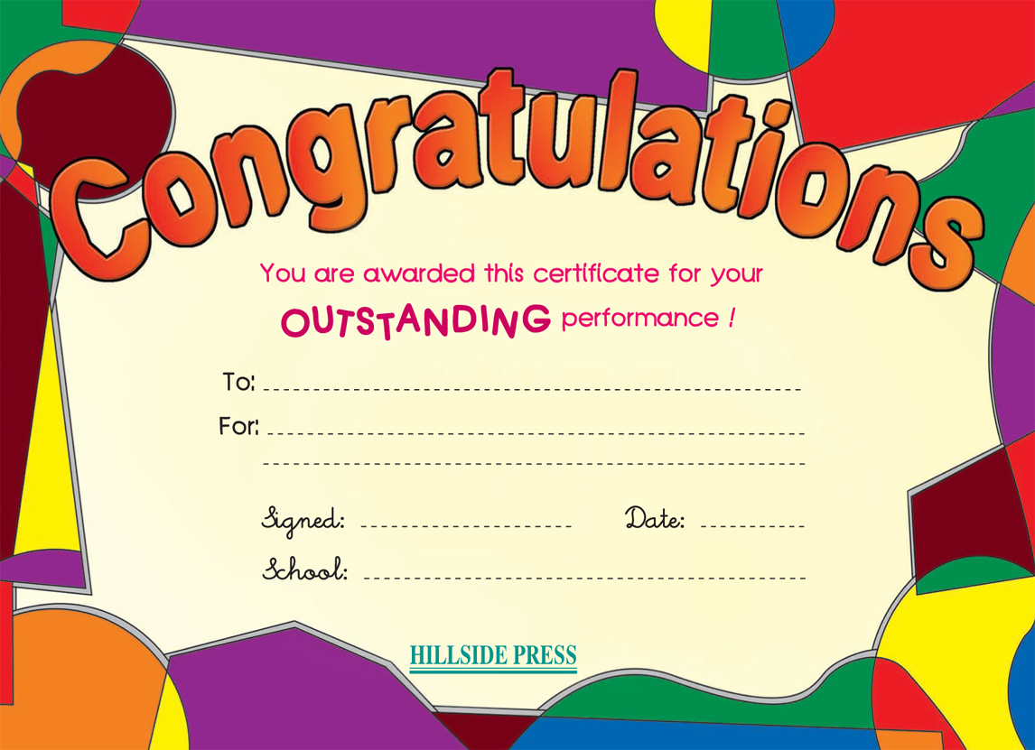 Search Results For Congratulations Certificate Templates
