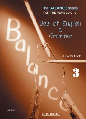 The Balance 3 Use of English & Grammar Student's book