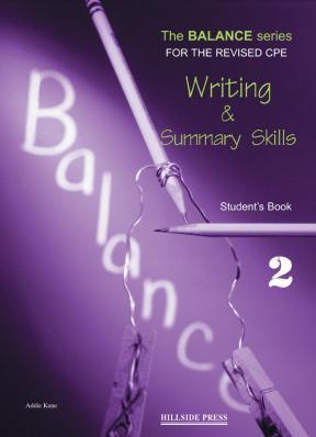 The Balance 2 Writing & Summary Skills Student's book