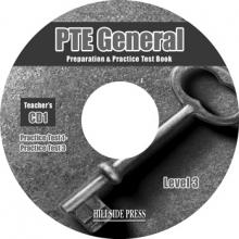 The PTE General Level 3 Exams Audio CDs (set of 2)